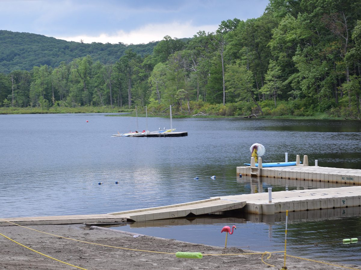 Camp No Be Bo Sco in Blairstown, New Jersey - Friday the 13th Filming location