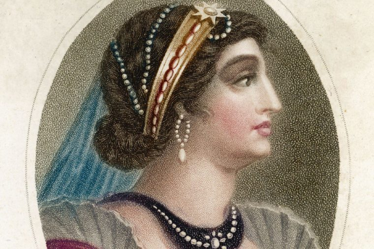 Cleopatra Vii Queen of Egypt 69 - 30 BC