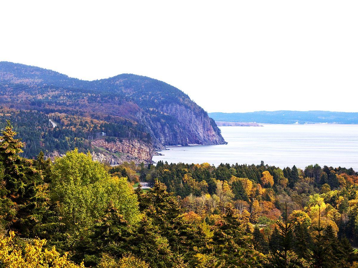 Fall colours - Bay of Fundy New Brunswick