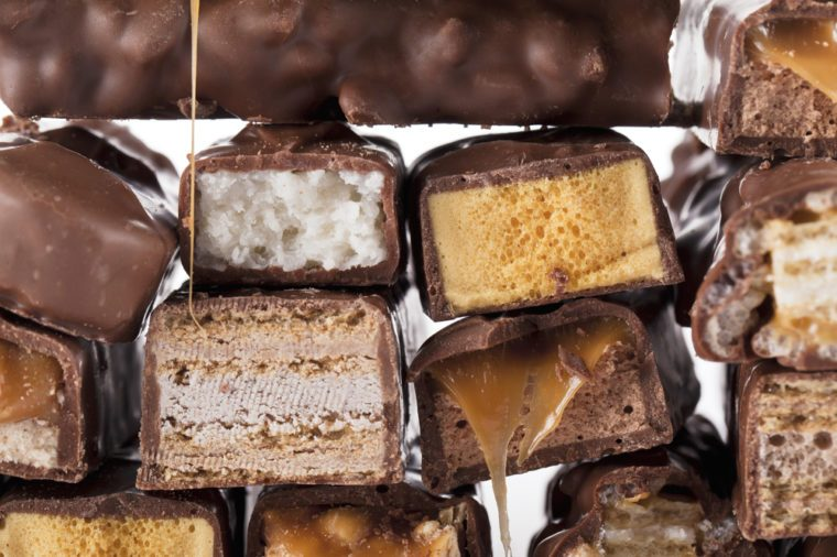 Chocolate candy bars