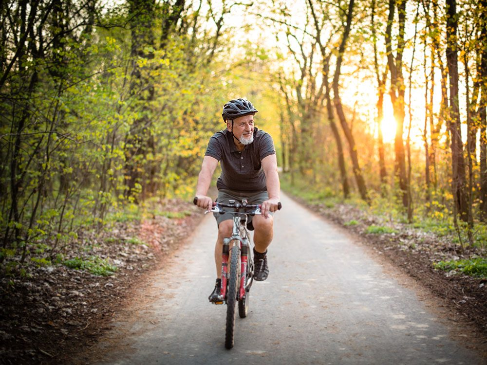 Getting active for healthy aging