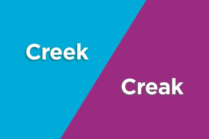 creek creak