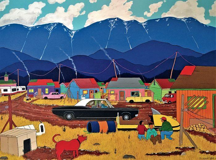 Jim Logan painting