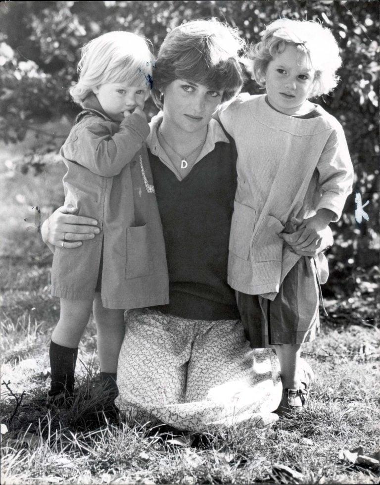 Princess Diana as a schoolteacher