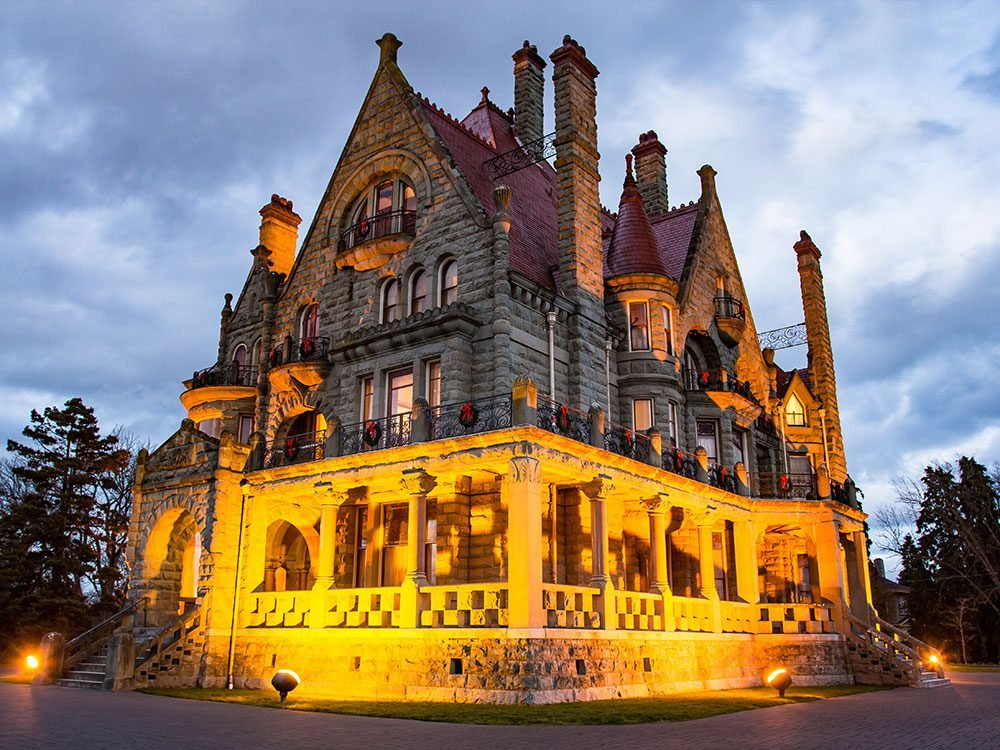 Most haunted places in Canada - Craigdarroch Castle, Victoria
