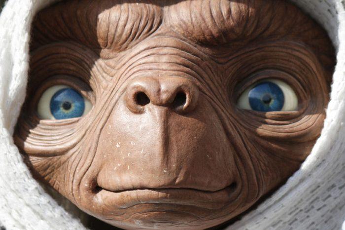 "OCTOBER 2016 - BERLIN: a waxwork of the ""ET - the Extraterrestrial"" character of the Steven Spielberg movie, Berlin."