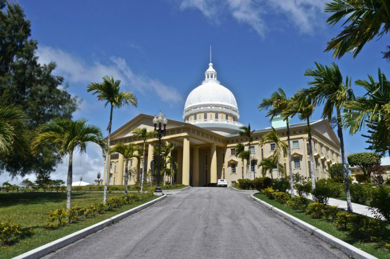Capital Building at Ngerulmud in Palau
