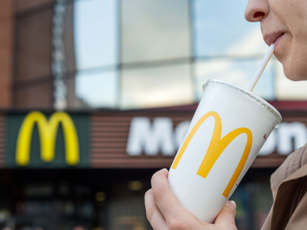 McDonald's drink
