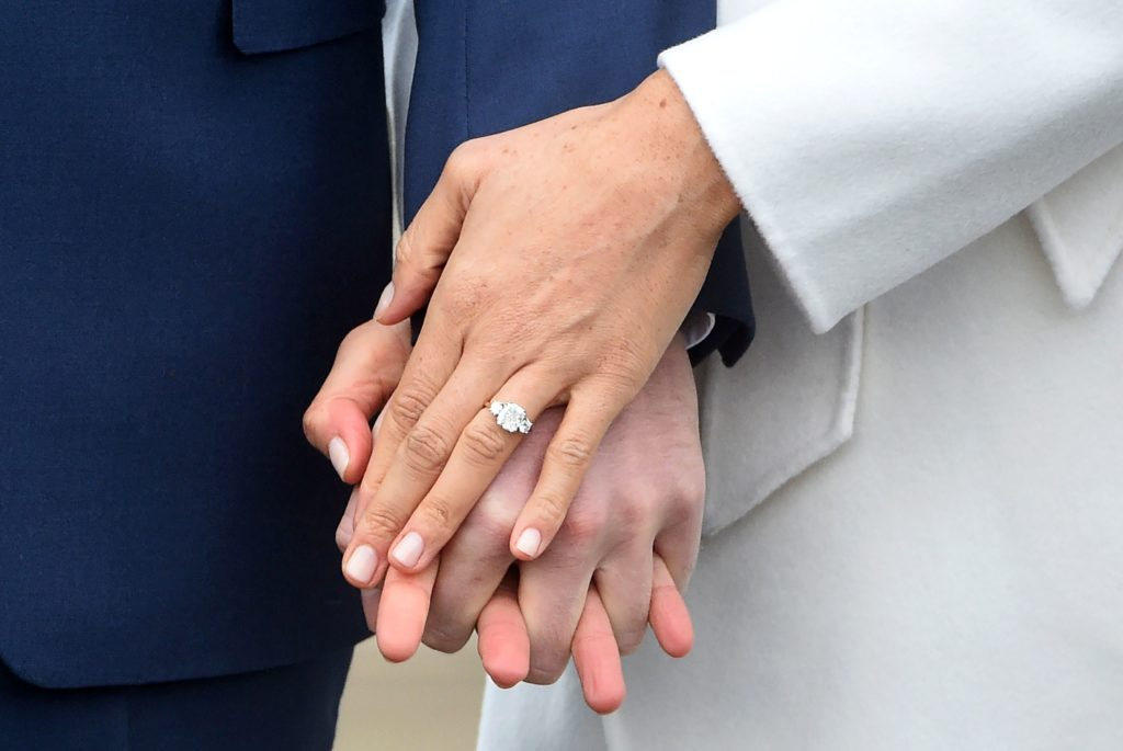 Prince Harry and Meghan Markle engaged, London, United Kingdom - 27 Nov 2017