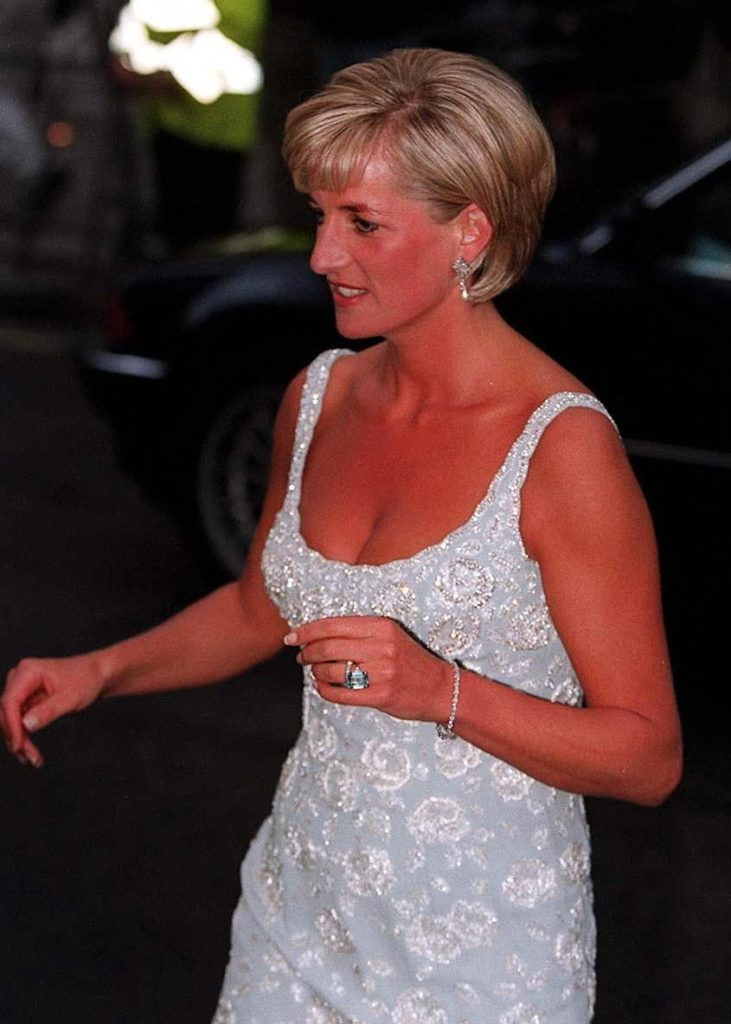 Princess Diana in London, 1997