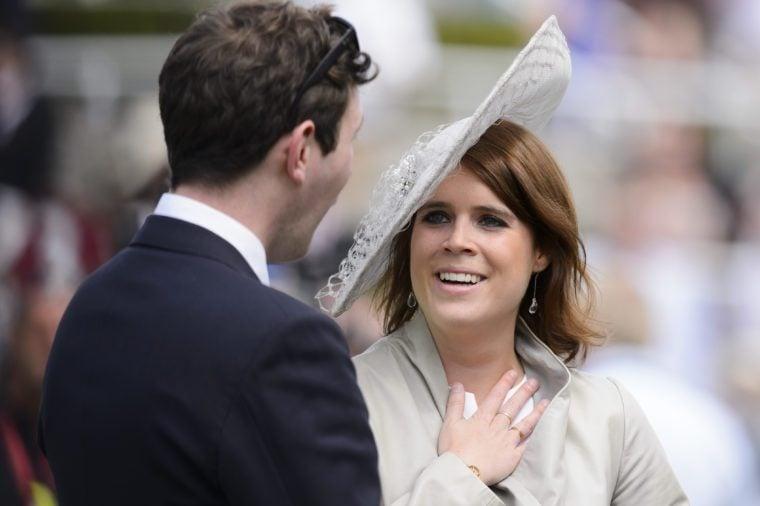 Princess Eugenie with her fiance