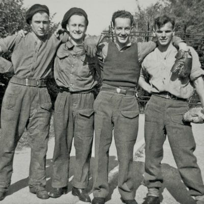Lucille's Uncle George, pictured with his troop