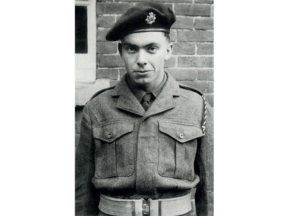 Reg Couldridge at age 18