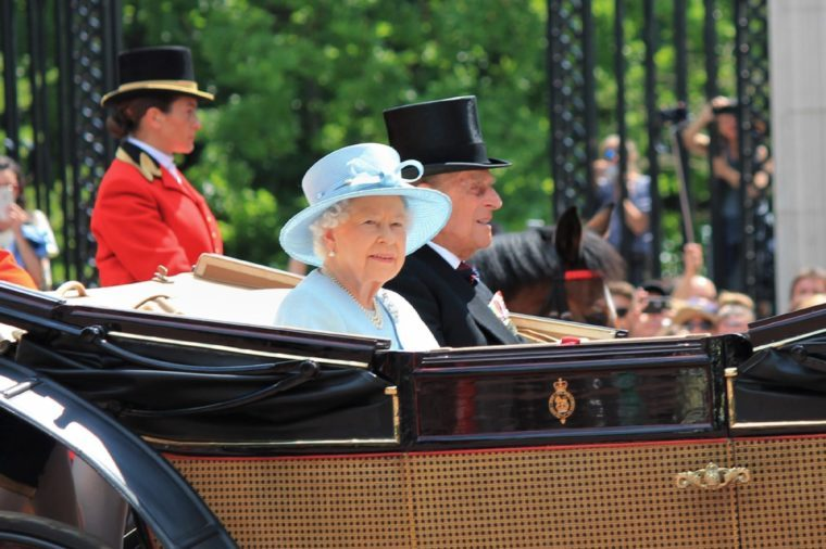 Queen Elizabeth & Prince philip, Buckingham Palace, London June 2017- Trooping the Colour, Queen Elizabeth and Prince parade Queen Elizabeths Birthday, June 17, 2017 London, England, UK