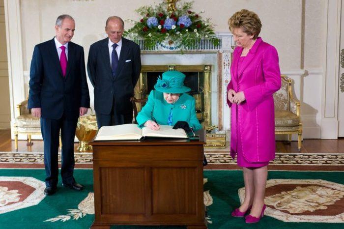 Queen Elizabeth II State Visit to Dublin, Ireland - 17 May 2011