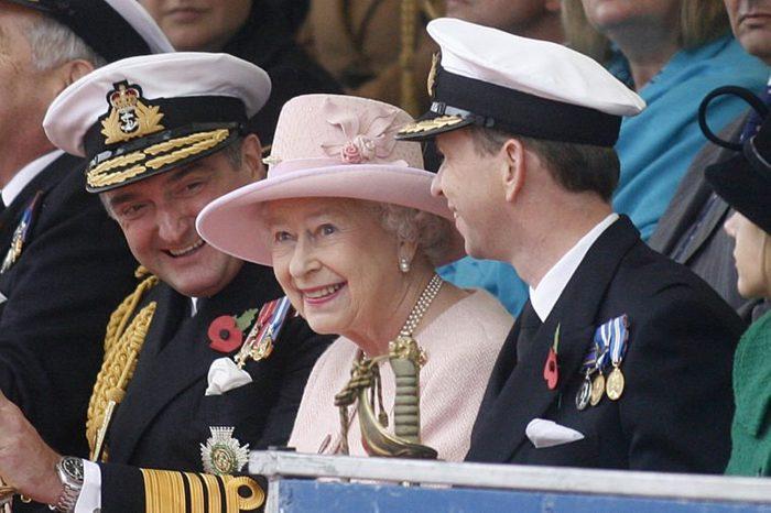 Queen Elizabeth II visiting Portsmouth, Hampshire, Britain - 05 Nov 2010