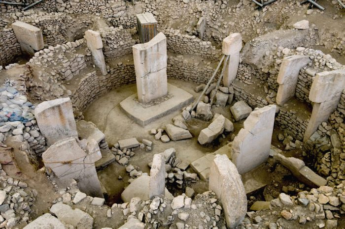 Ancient Site of Göbekli Tepe in Turkey