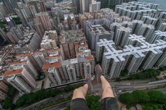 Rooftop Stunts