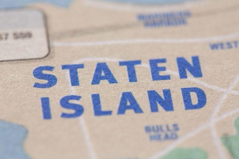 staten island map