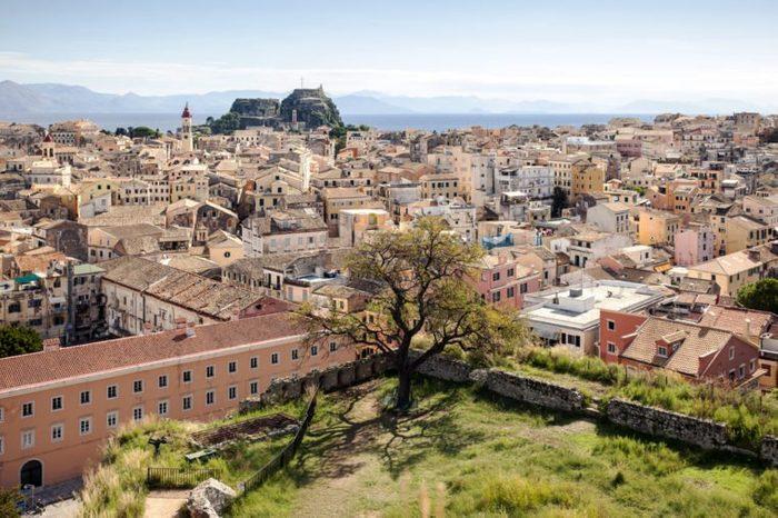 Corfu capital city