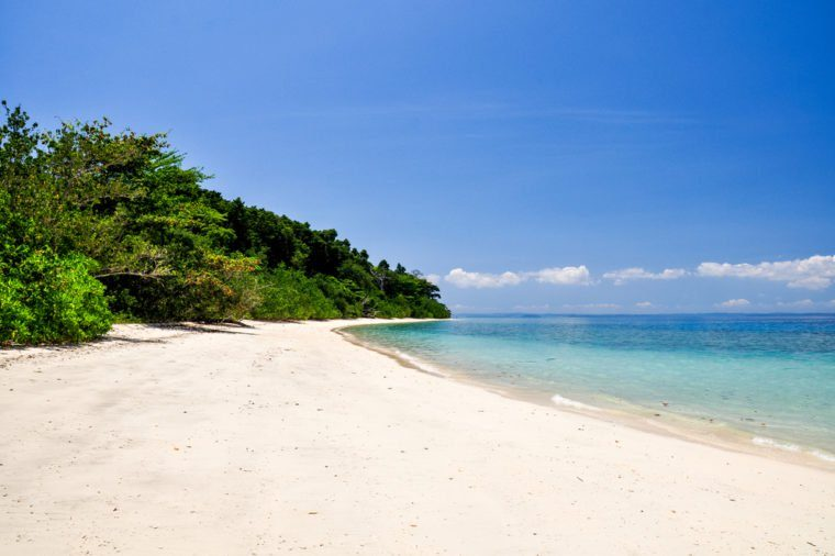 Stunning view of Elephant Beach near Radhanagar Beach on Havelock Island