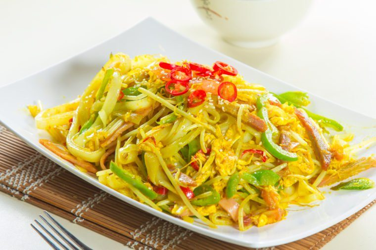 chinese style fried noodles
