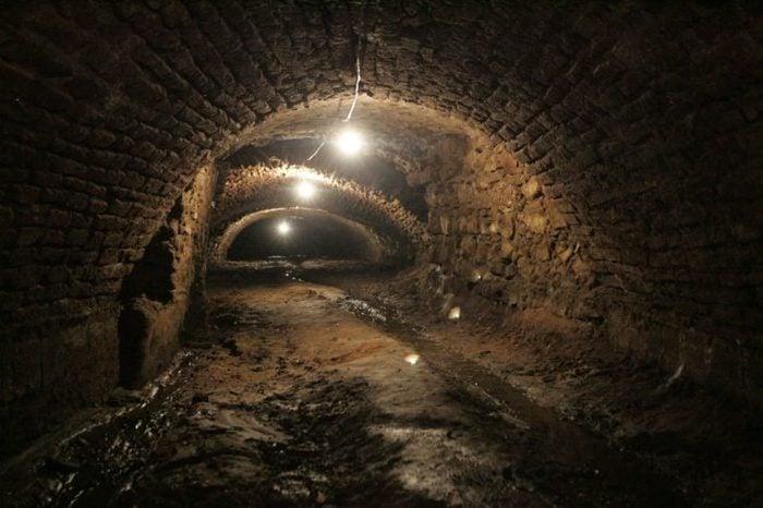 tunnels Puebla, Mexico