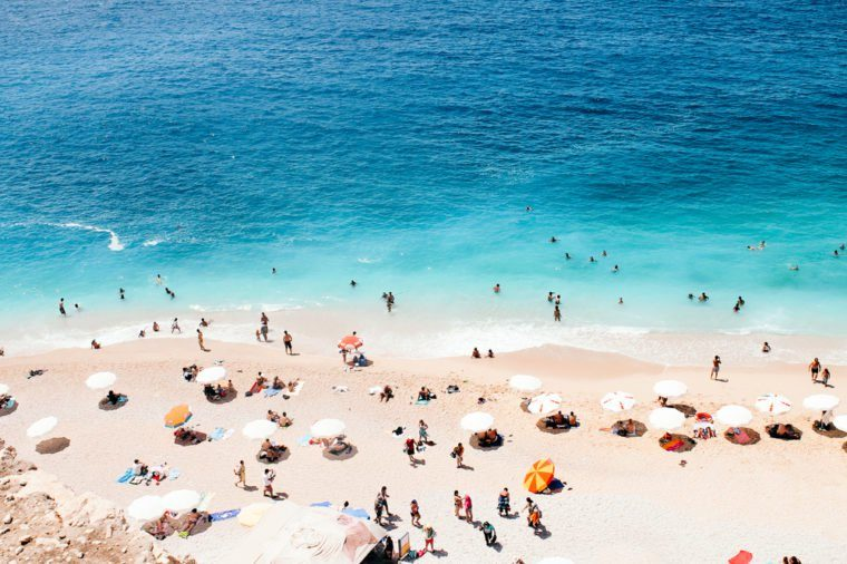 Kaputas Beach Turkey Mediterranean Sea