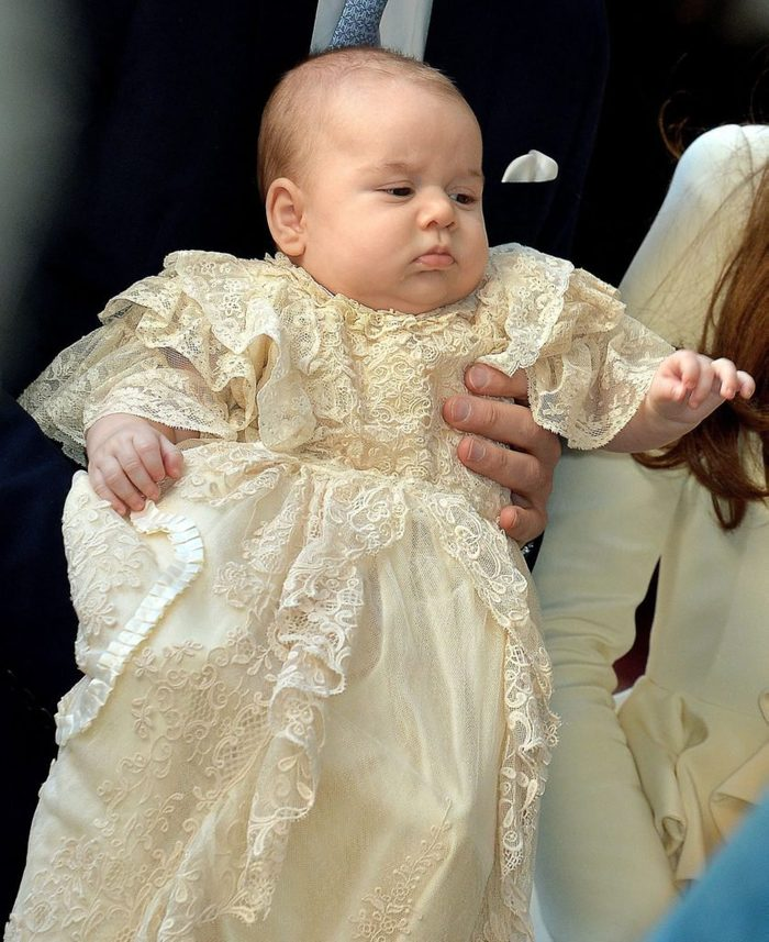Prince George as a baby