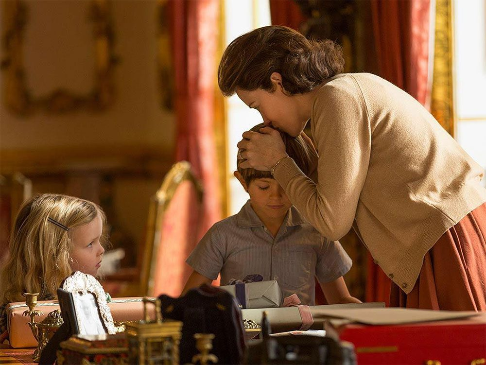 The Crown quotes - Elizabeth and her children