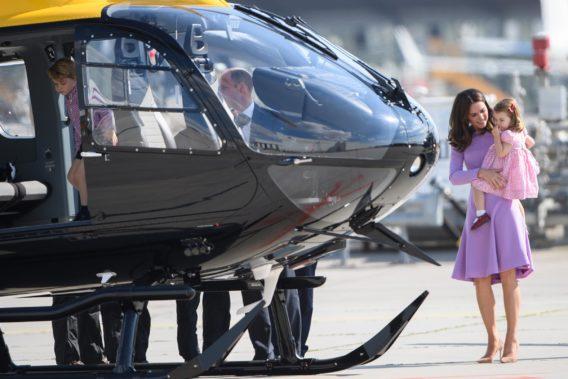 Kate Middleton and Princess Charlotte