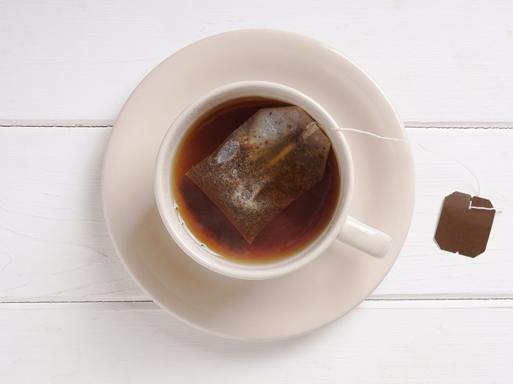 Treat canker sores with tea bags