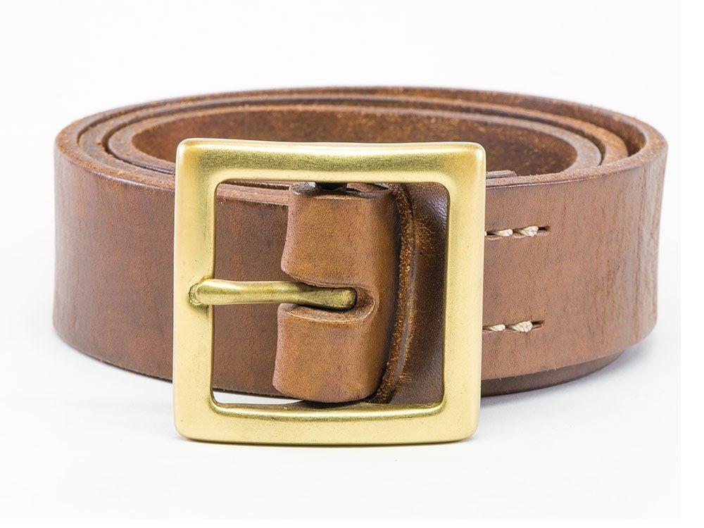 Use clear nail polish to keep a belt buckle shiny