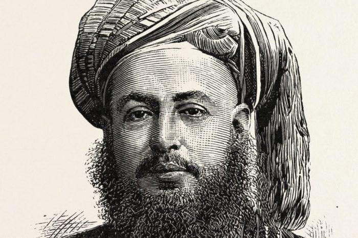 Bargash Bin Said, G.c.m.g., Sultan Of Zanzibar, 1888 Engraving.