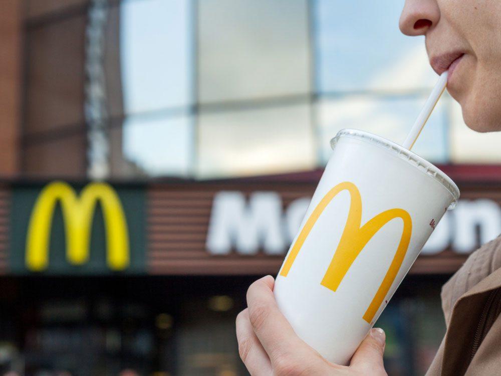 McDonald's soft drink
