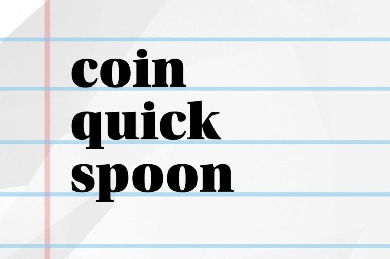 Can you solve these missing word puzzles?