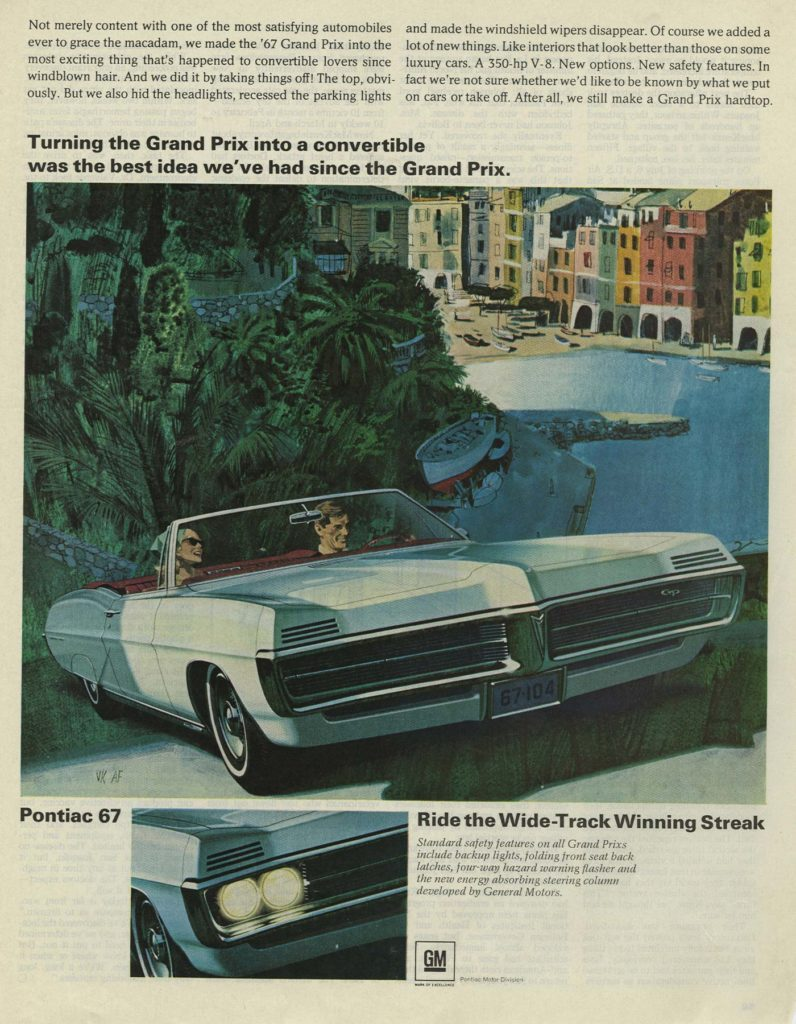 '67 pontiac grand prix convertible