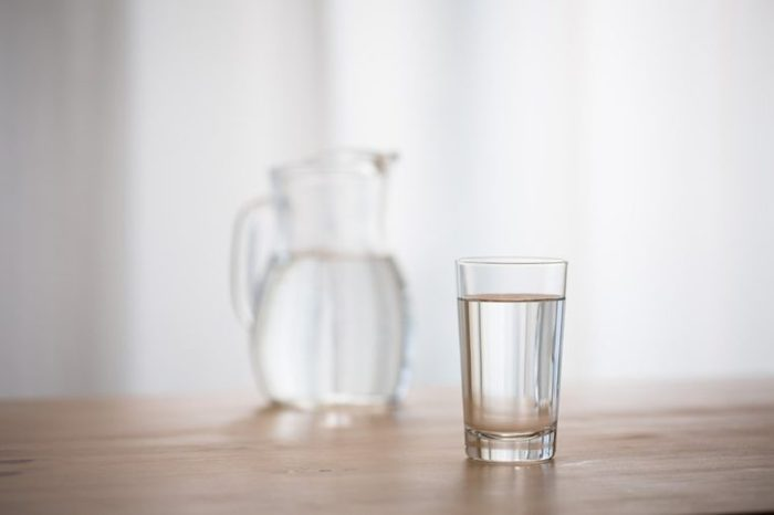 Water on the window side