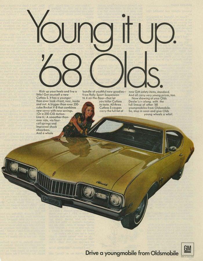 '68 oldsmobile ad