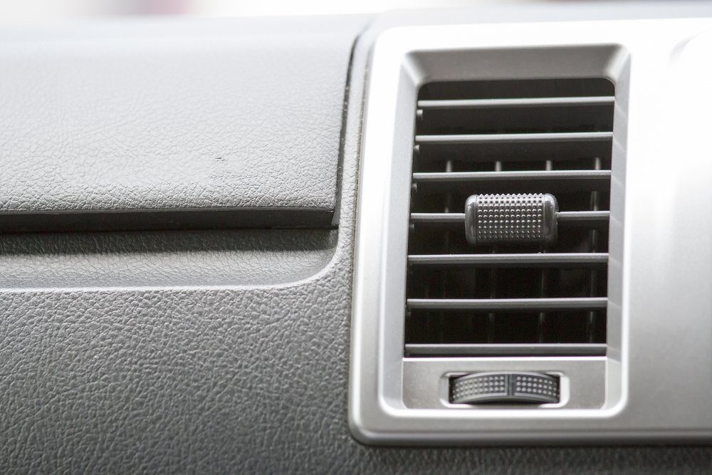 air conditioner vent in car