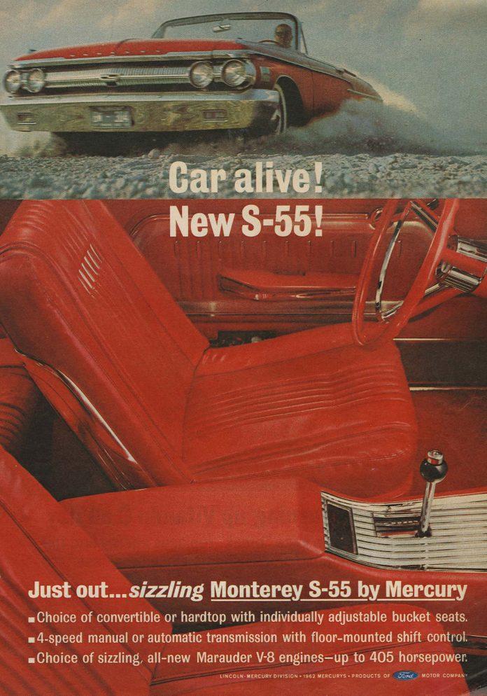 Monterey S-5 Mercury ad
