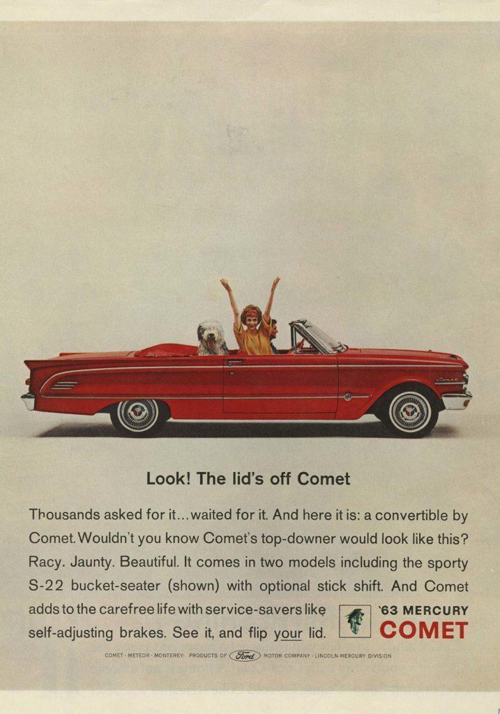 63 Mercury Comet ad