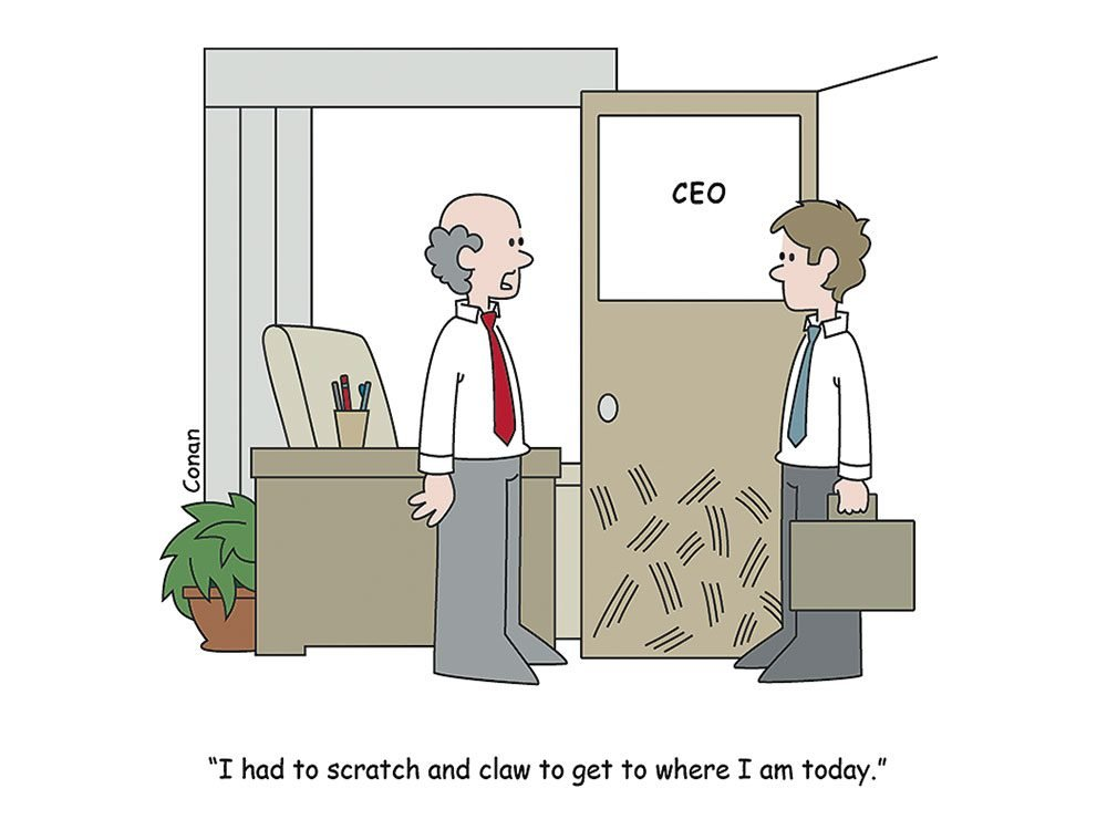 Work cartoon