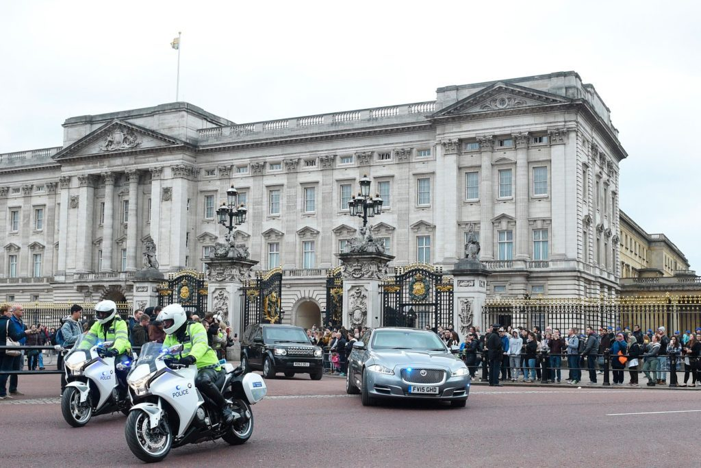 British Parliament leaving Buckingham Palace