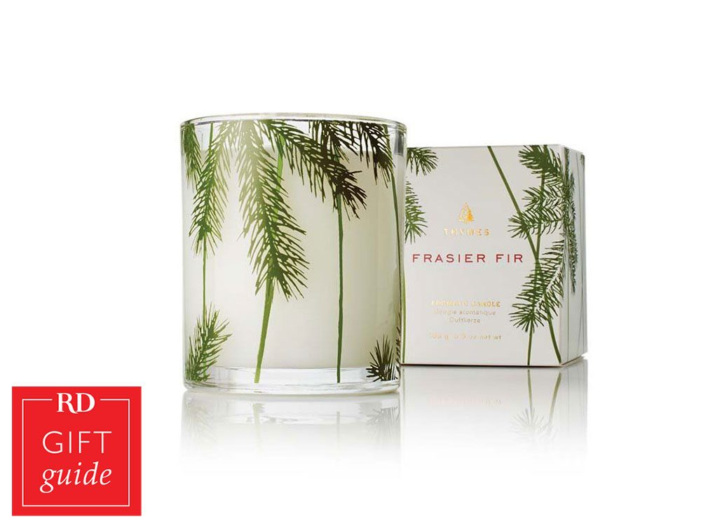 Canadian Gift Guide - Thymes Frasier Fir Candle Chapters Indigo