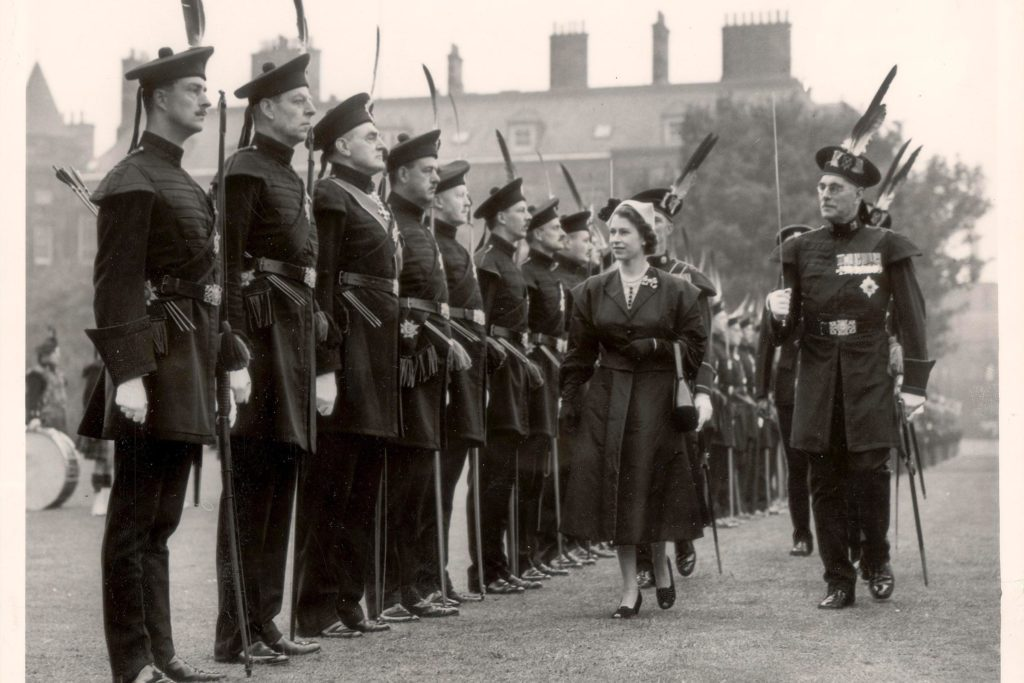 Queen Elizabeth II at 25