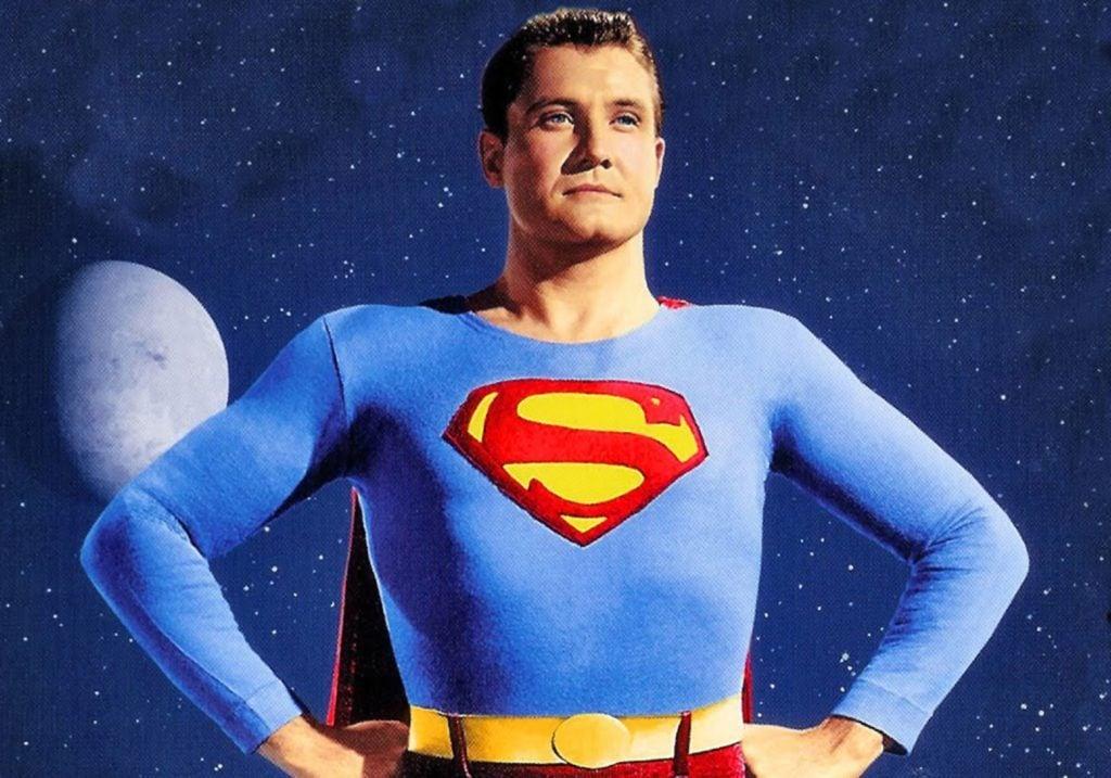 George Reeves as Superman in 1952