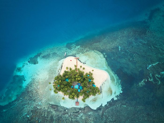 The world's best small islands