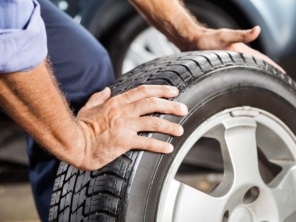 Want better gas mileage? Check tire pressure