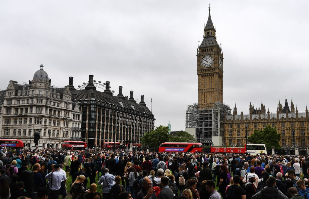 Big Ben's bongs fall silent for up to four years., London, United Kingdom - 21 Aug 2017